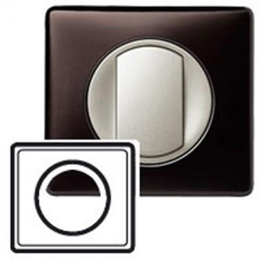 legrand c liane plaque anodis 1 poste graphite 068931. Black Bedroom Furniture Sets. Home Design Ideas