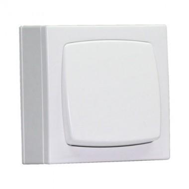 EFAPEL Interrupteur poussoir àbascule blanc en saillie
