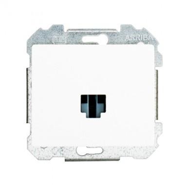 SIEMENS Delta Iris Mécanisme prise informatique RJ45 (catégorie 5) - Blanc