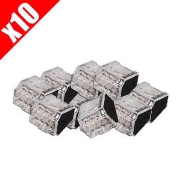 CAPRI 10 bornes de connexion rapide auto pour 8 fils électriques de 1 à 2.5²
