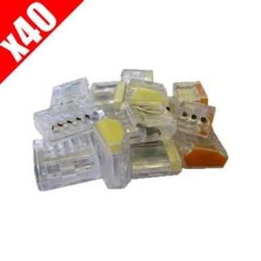 CAPRI Pack mixte 40 bornes auto pour 0.5 à 2.5²