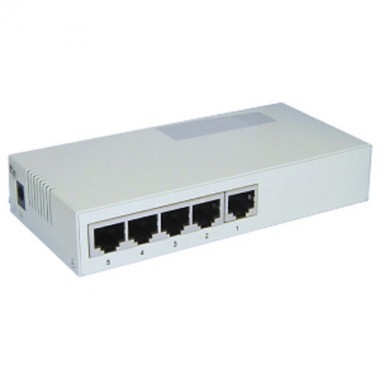 Switch ports RJ45 10 / 100 Mbps