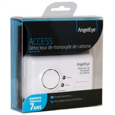 ANGELEYE Access Détecteur avertisseur autonome de monoxyde de carbone