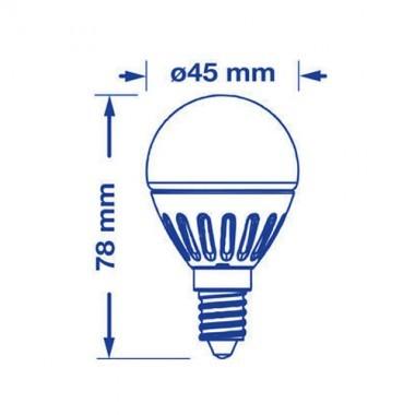 VERBATIM Ampoule LED àvis E14 4W 210lm 230V