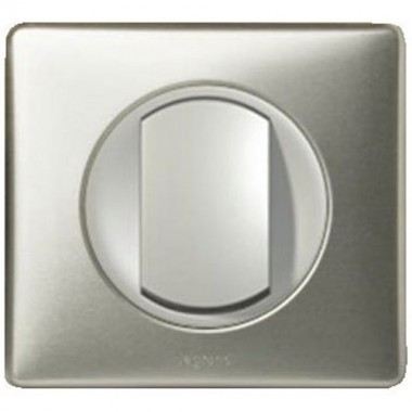 legrand c liane bouton poussoir anodis titane. Black Bedroom Furniture Sets. Home Design Ideas
