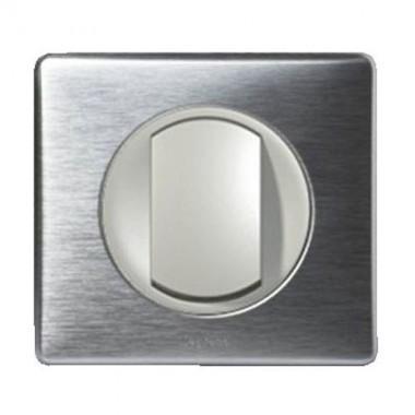 LEGRAND Céliane bouton poussoir - Anodisé Alu