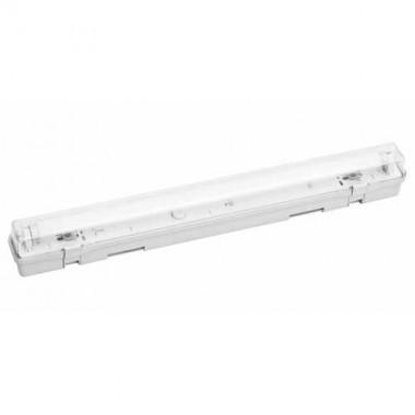 Réglette fluorescente étanche + 1 tube 18W