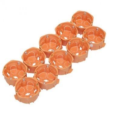 CAPRI Capriclips Lot de 10 boîtes encastrement D67 profondeur 40