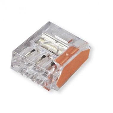CAPRI 100 bornes de connexion rapide auto pour 3 entrées orange 3x2.5² - 2