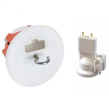 CAPRI Capritherm Point de centre DCL + douille E27 + fiche P50mm