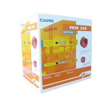 CAPRI Capriclips Pack de 250 boîtes + scie cloche