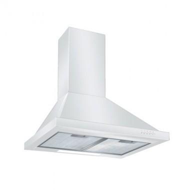 DMO Hotte cheminée de cuisine 60 cm 500m³/h blanc