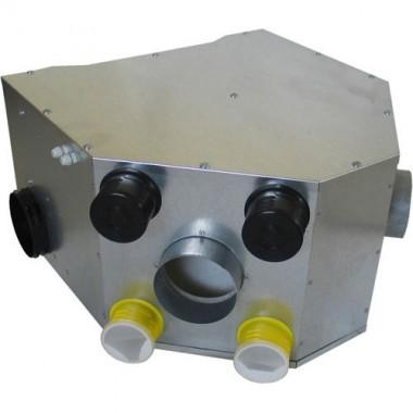DMO Kit VMC double flux métallique + télécommande