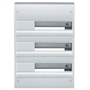 tableau lectrique hager 3 rang es 18 modules gamma 18 gd318a. Black Bedroom Furniture Sets. Home Design Ideas