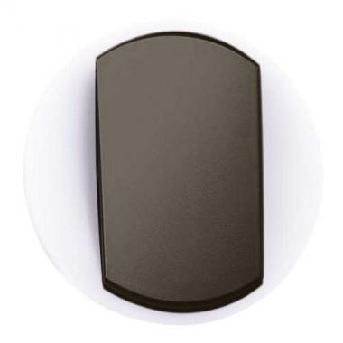 LEGRAND Céliane Enjoliveur va et vient / poussoir avec couronne lumineuse - doigt large graphite - 065204