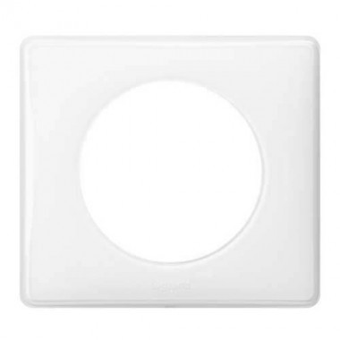 LEGRAND Céliane Plaque Memories 1 poste Yesterday Blanc - 066631