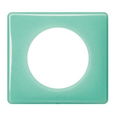 LEGRAND Céliane Plaque Memories 1 poste 50's turquoise - 066641