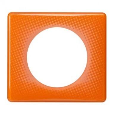 LEGRAND Céliane Plaque Memories 1 poste 70's orange - 066651