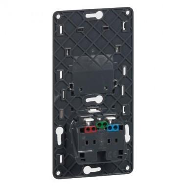 LEGRAND Céliane Prise de courant + chargeur universel simple USB - 067116