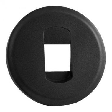 LEGRAND Céliane Enjoliveur graphite prise HP simple - 067813