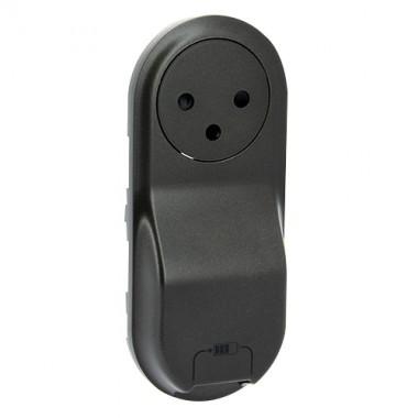 LEGRAND Céliane Enjoliveur Prise 2P+T - Chargeur USB semi encastré graphite - 067916