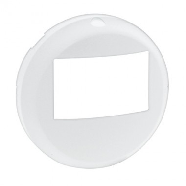LEGRAND Céliane Enjoliveur blanc Ecodétecteur sans dérogation - 068299