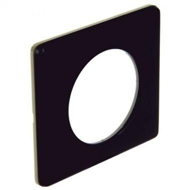 LEGRAND Céliane Plaque Métal 1 poste Carbone - 068981