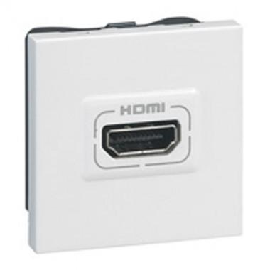 LEGRAND Mosaic Prise audio vidéo HDMI large - 078768