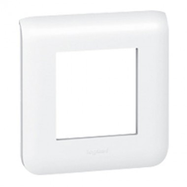LEGRAND Mosaic Plaque simple blanche