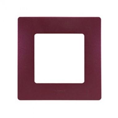 LEGRAND Niloé Plaque simple 1 poste Prune - 096707