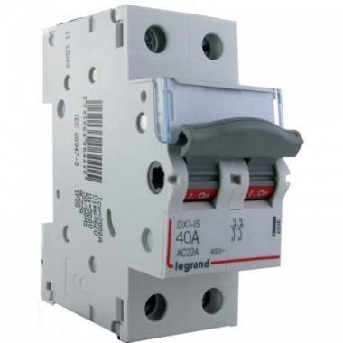 LEGRAND Interrupteur sectionneur de tête 2P 400V 40A 2M - 406440