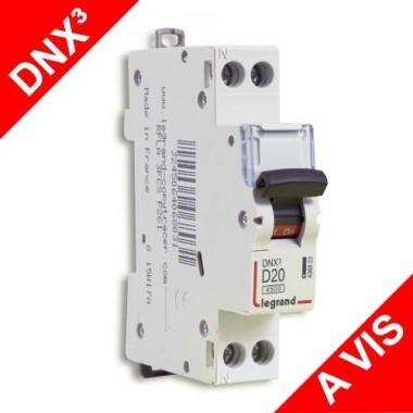 LEGRAND DNX3 Disjoncteur électrique 20A courbe D - 406803