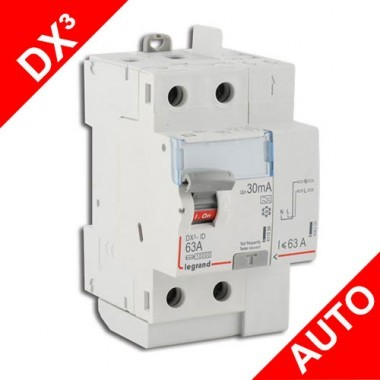 LEGRAND Interrupteur différentiel 63A 30mA Type A DX3 AUTO