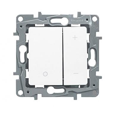 LEGRAND Niloé Interrupteur variateur 400W blanc