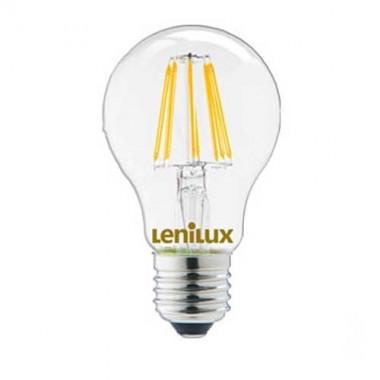 ampoule led filament dimmable lenilux e27 230v 8w 80w standard 340206. Black Bedroom Furniture Sets. Home Design Ideas
