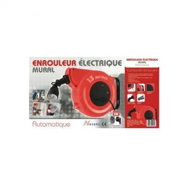 NEXANS Enrouleur électrique mural 3G1.0 - 13m