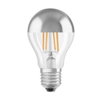 Ampoule LED filament OSRAM E27 230V 7W(=51W) standard argentée ...