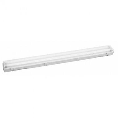 Réglette fluorescente étanche + 2 tubes 36W