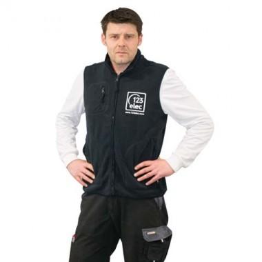Polaire sans manche 123elec Marine Taille XL