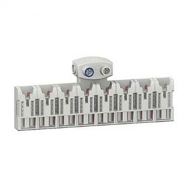 SCHNEIDER Districlic XE Répartiteur d'alimentation 8 modules avec connecteur