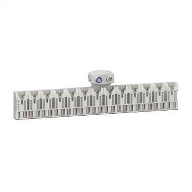 SCHNEIDER Districlic XE Répartiteur d'alimentation 13 modules avec connecteu