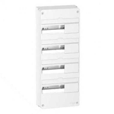 tableau lectrique schneider 4 rang es 13 modules resi9 r9h13404. Black Bedroom Furniture Sets. Home Design Ideas