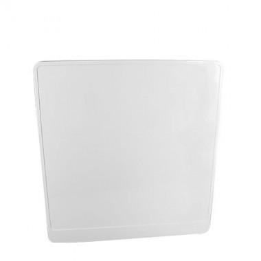 SCHNEIDER Resi9 Porte Styl blanche pour tableau électrique 18 modules 2 rangées