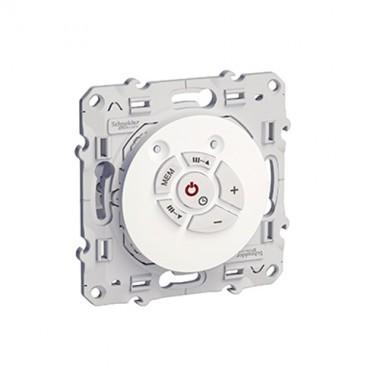 SCHNEIDER Odace Mécanisme prise HP + prise radio FM - S520583 - 2