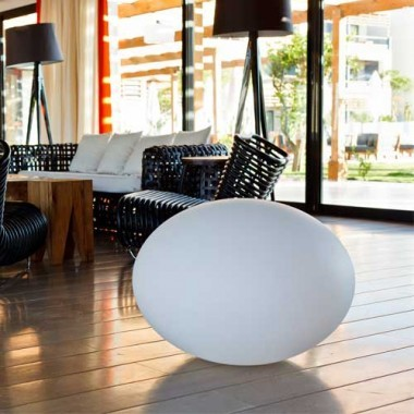 boule lumineuse led multicolore sans fil tanche et flottante. Black Bedroom Furniture Sets. Home Design Ideas