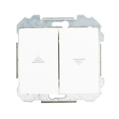 SIEMENS Delta Iris Mécanisme interrupteur pour volets roulants - Blanc