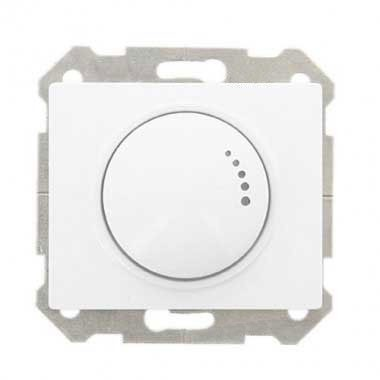 SIEMENS Delta Iris Mécanisme interrupteur variateur rotatif 500W - Blanc