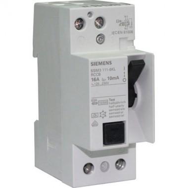 SIEMENS Interrupteur différentiel 10mA 16A type A