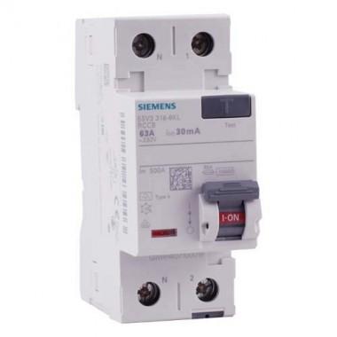 SIEMENS Interrupteur différentiel 63A type A 30mA