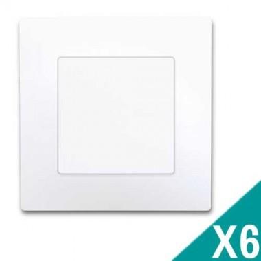 SIEMENS Delta Viva Lot de 6 interrupteurs va et vient complets - Blanc
